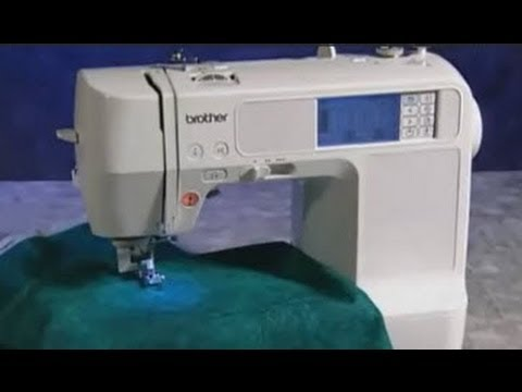 Brother HE40 NV40D SE40 SE40 SE40 LB40 Instructional Video Stunning Brother Se350 Computerized EmbroideryAndSewing Machine