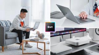 Skakel oor na M1 Mac Mini en MacBook - Week in Life!