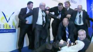 Failed assassination attempt in Bulgaria - caught on tape