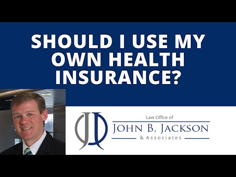 Should I use my own heath insurance?