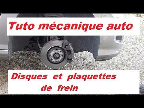 Comment Tutoriel mécanique auto : disques et plaquettes de frein ?