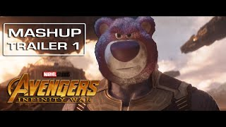 Avengers Infinity War | Toy Story 3 - [Mashup] Trailer 1