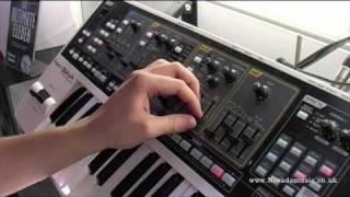 Roland GAIA SH-01 Synth Demo - PMT