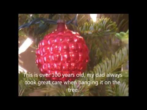 Antique ornaments and memories