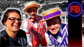 Getting Dapper with the Dans and the Straw Hatters + tomorrowland rumors 04/21/18 pt 2 (4K)