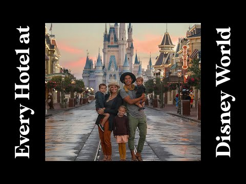 We Stayed at EVERY Walt Disney World Resort! 30 Stays in 30 days + 1!!