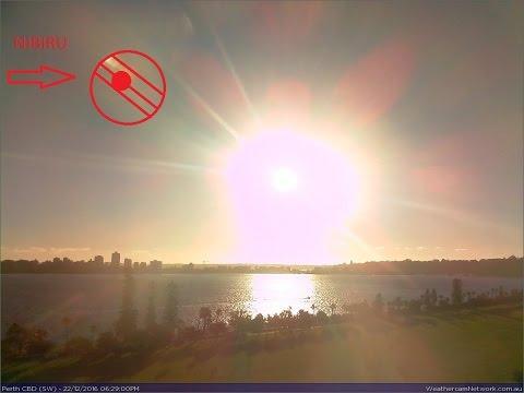 NIBIRU - JUPITER IS VERY CLOSE!! Massive Planetary Object Caught On Perth Webcam - 22 Dec 2016