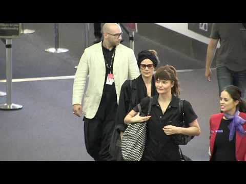 'Supermodel Helena Christensen arrives in Australia for Melbourne fashion festival' 7/3/18 Mp3