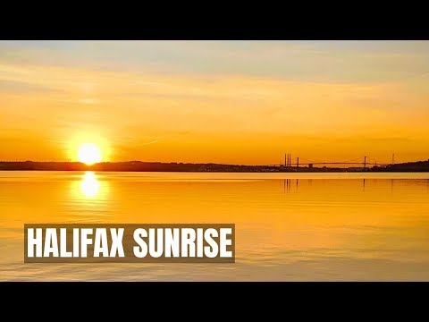 Halifax Sunrise Time Lapse