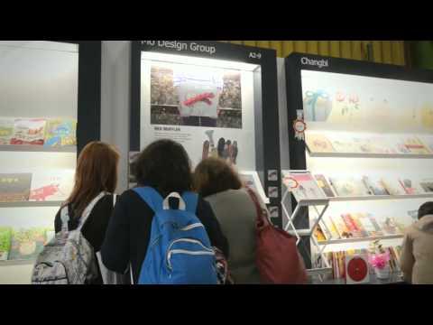 Red Muffler visit Bologna children's book fair 2013