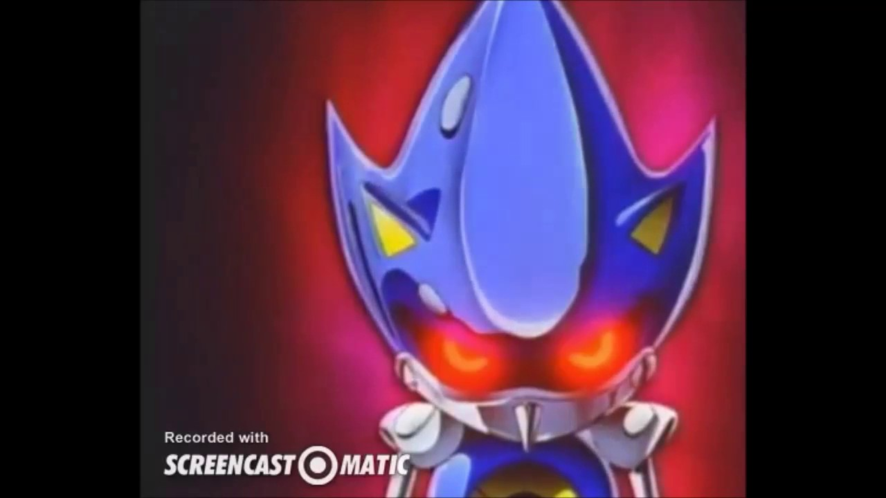 Metal Sonic Vs Sonic Exeメタルソニックvsソニックexe Youtube