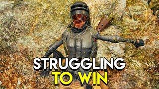 Struggling to Win - PlayerUnknown's Battlegrounds (PUBG)