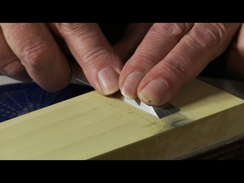 David's method for chisel sharpening