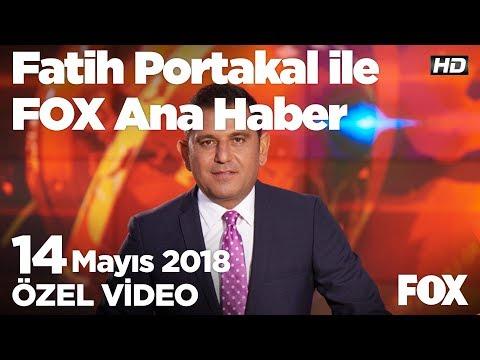 Af var mı? 14 Mayıs 2018 Fatih Portakal ile FOX Ana Haber