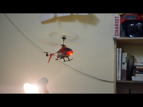 Máy bay trực thăng điều khiển từ xa mini - hàng chơi trong nhà 14+