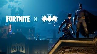 Tráiler de lanzamiento de Fortnite X Batman