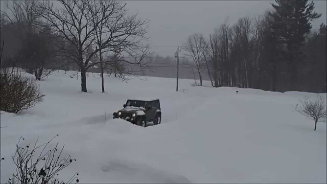 Plow For Jeep Wrangler >> Snowmaggedon 2015, Part 2 - Jeep JK w/ SnowSport HD ...