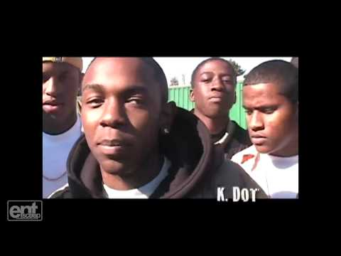 Kendrick Lamar In High School Rapping