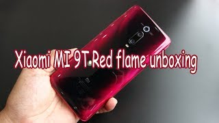 Xiaomi MI 9T Red Flame unboxing