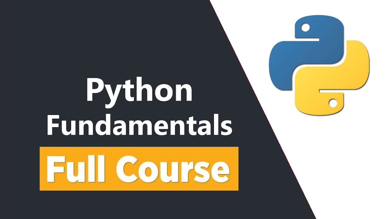 Python Fundamentals - Learn Basic Coding Skills with Python