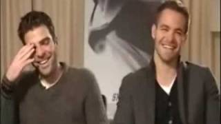 The Best of Chris Pine and Zachary Quinto Part 8