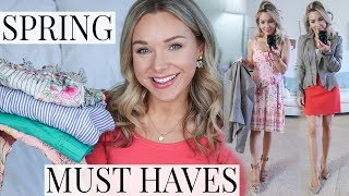 SPRING MUST HAVES | Fashion Lookbook, Beauty + Lifestyle thumbnail