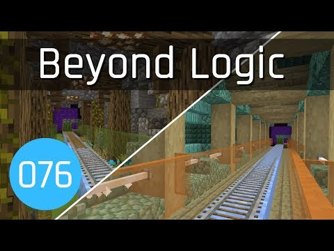 Beyond Logic #76: Nether Transport Improvements | Minecraft 1.13