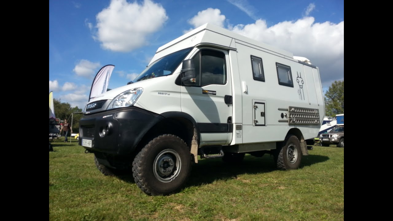 Iveco Daily 4x4 Camper >> Iveco Daily 4x4 Camper Offroad Expedition Youtube