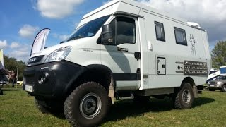 Iveco Daily 4x4 Camper Offroad expedition