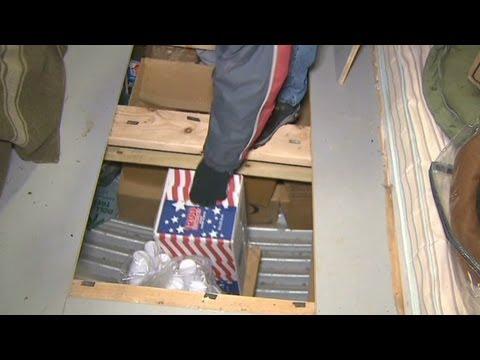 Man builds $65 thousand doomsday bunker