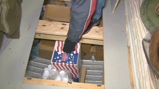Man builds $65 thousand doomsday bunker