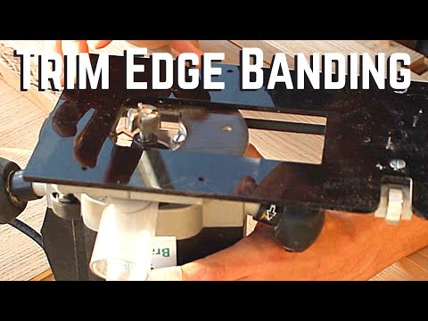 How to use you router for perfect edge banding or lipping
