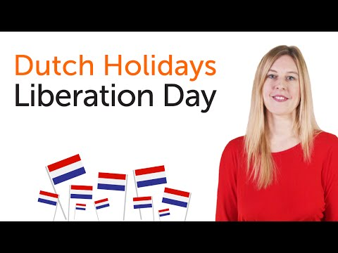 Dutch Holidays - Liberation Day - Bevrijdingsdag