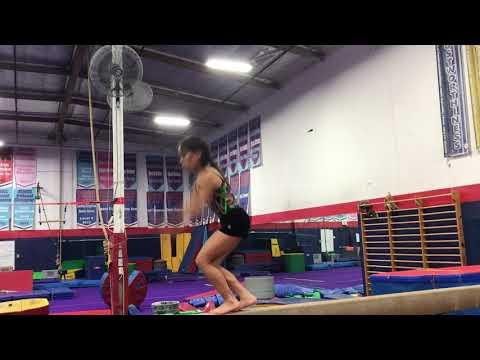 Straight jump Split jump (Purple Beam)