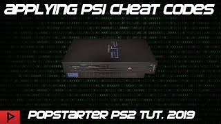 How To Apply PS1 Cheats Using Popstarter and OPL Tutorial (2019, English)