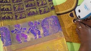 Fashion blouse for silk saree / Diwali special