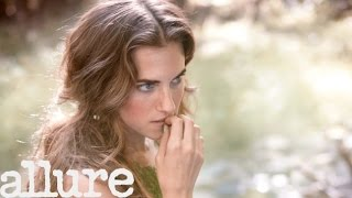 Allison Williams's Peter Pan-Themed Allure Cover Shoot
