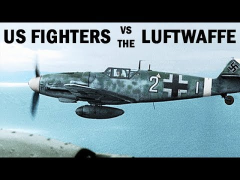 US Fighter Pilots vs. the German Luftwaffe | World War 2 Doc