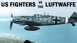 US Fighter Pilots vs. the German Luftwaffe | World War 2 Documentary | 1945