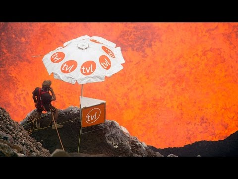 Phone Call From Inside An Active Volcano