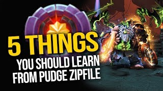 5 Things Every Pudge Player Should Learn From Master Tier Zipfile Pudge | Pudge Official