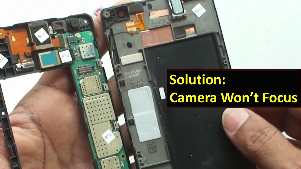 How to fix the phone's blurry camera