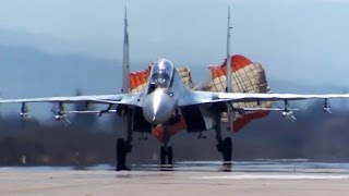 Syria: Russian Su-24, Su-25 Jets Take Off From Air Force Base in Latakia