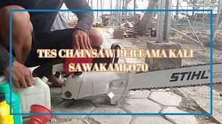 Review STIHL 070 Clone - SAWAKAMI 070 Chainsaw