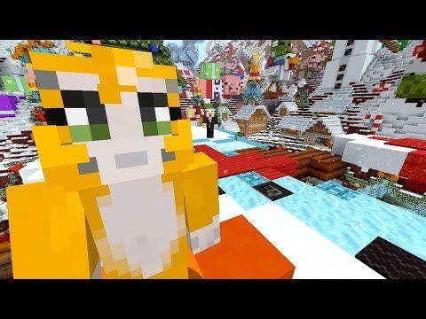Minecraft - Festive Tumble - Fireworks!
