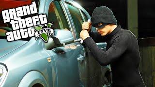 GTA 5 GERÇEK HAYAT !!! Araba Hırsızlığı ! #3