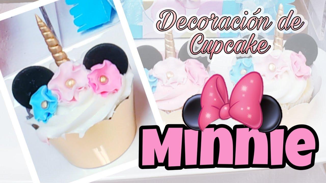 Como Decorar Cupcakes De Minnie Mouse Unicornio