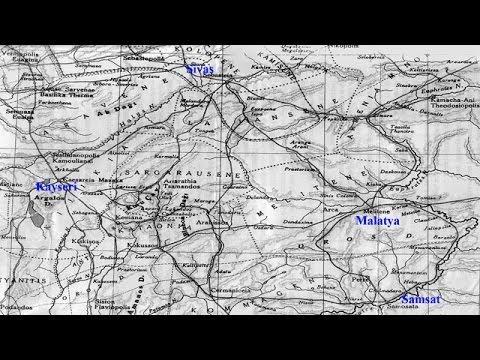 Anadolu'nun Antik Yollar Haritası - Anatolia Ancient Paths