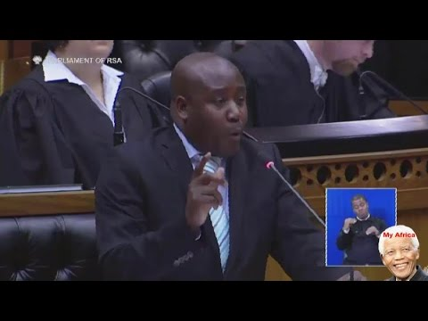 MUST WATCH. ANC vs EFF In Parliament.