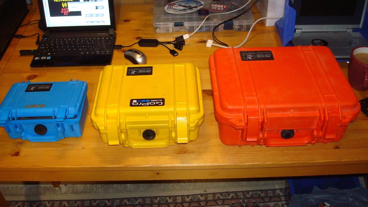 Pelican Cases for CHEA...